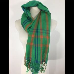 Accessories - Green Scarf